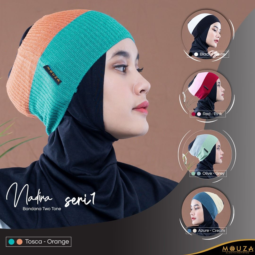 Bandana Nadira Two Tone By mouza